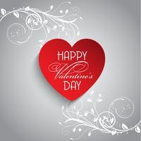 Floral Valentijnsdag achtergrond