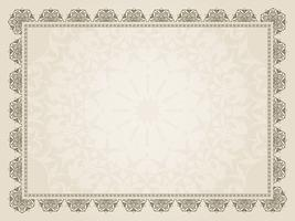 Decorative Certificate background
