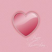 Valentinsdag hjärta bakgrund
