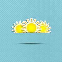 Sun Symbol Background