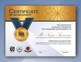 Multipurpose Professional Certificate Template Design. Vector il