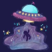Cute UFO Abduction