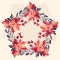 Acquerello Autumn Wreath