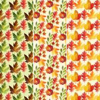 Autumn Pattern Set