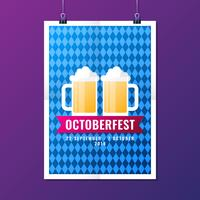 Advertisement Oktoberfest Beer Party Poster Templates