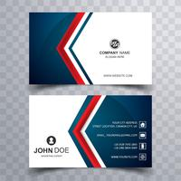 Abstract colorful business card set template design