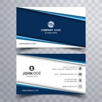 Modern stylish business card design illustration vector