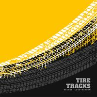 Grunge Reifen markiert Hintergrunddesign