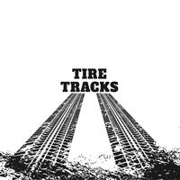 marcas de faixa de pneu sujo abstrata