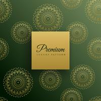 premium mandala seamless pattern background