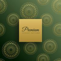 premium mandala seamless pattern background