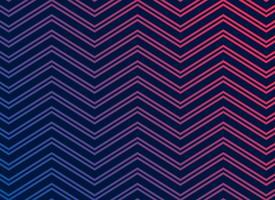 black background with vibrant zigzag pattern