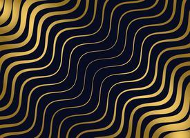 premium golden wavy pattern design