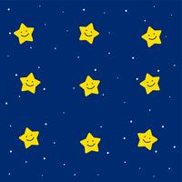 cute stars pattern for kids