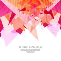 Abstract polygon colorful background
