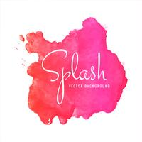 Modern colorful watercolor splash background