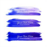 Abstract kleurrijk waterverfslagen vastgesteld ontwerp