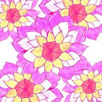 Moderne colroful bloemenachtergrond