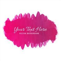 Modern rosa mjuk akvarellbakgrund