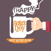 World's Best Boss Mug Illlustration