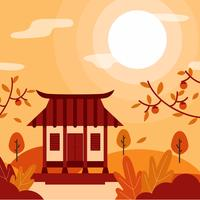 Chuseok  Celebration Background