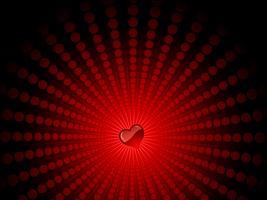 corazón en Starburst