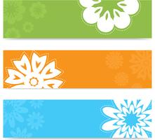 Banners florales
