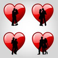 Couples and hearts