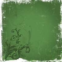 Grunge floral