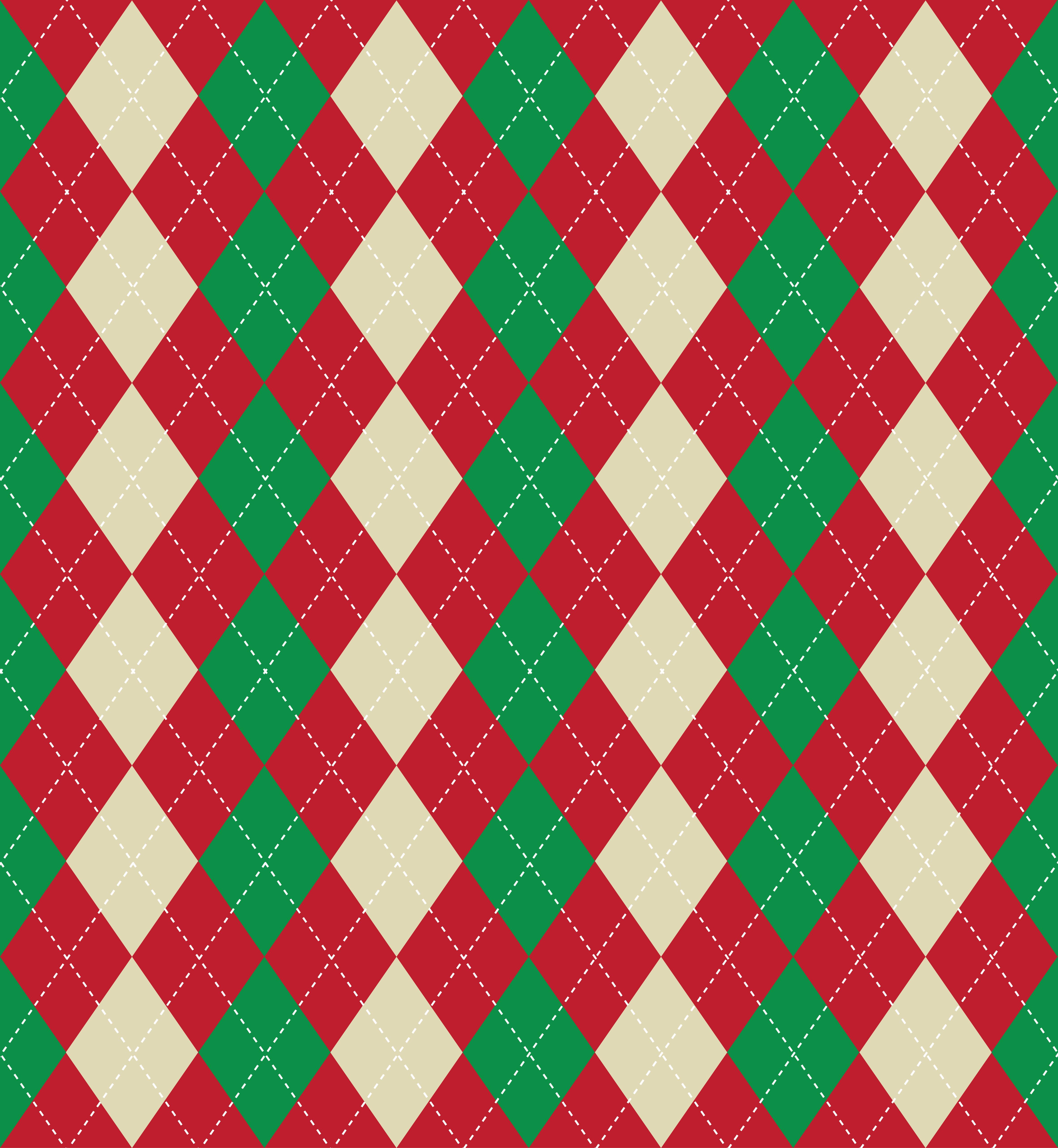 Patrón de argyle de Navidad - Descargue Gráficos y Vectores Gratis