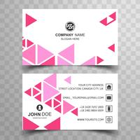 Modern geometric buisness card template