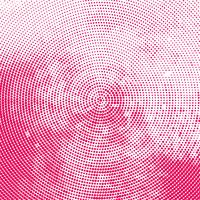 Beautiful pink halftone background
