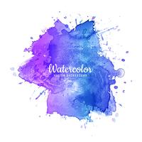 Abstract colorful watercolor splash background