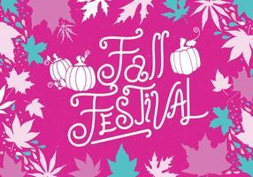 Herbst-Festival-Kürbis-Vektor