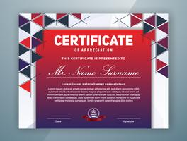 Multipurpose Professional Certificate Template Design
