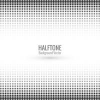 Elegant halftone background vector