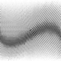 Modern black halftone background