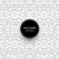 Vector de fondo moderno patrón floral