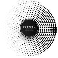 Abstract circular dots pattern background