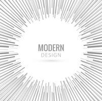 Fundo de raios cinza moderno