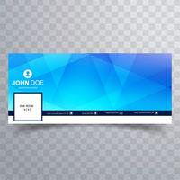 Abstract facebook template background