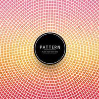 Beautiful colorful decorative geometric pattern vector
