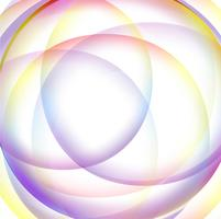 Abstract colorful circular wave background