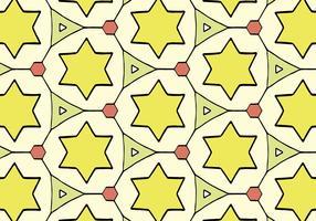 Vector libre de patrón de ornamento islámico