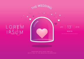 Save The Date, Wedding Invitation Template