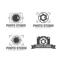 Fotógrafo Logo Vector Collection