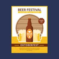 oktoberfest flyer sjabloon