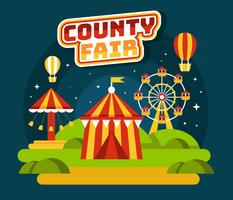 county fair vektor