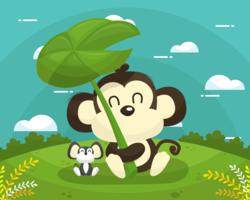 Animal-friends-vector