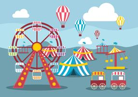 Illustrazione vettoriale di County Fair